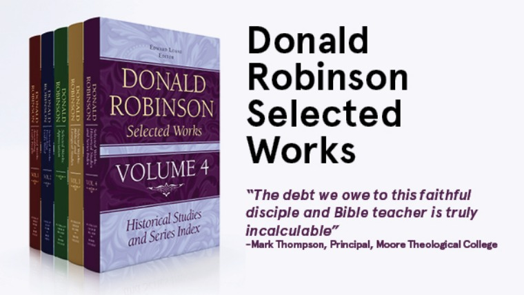 Donald Robinson Selected Works