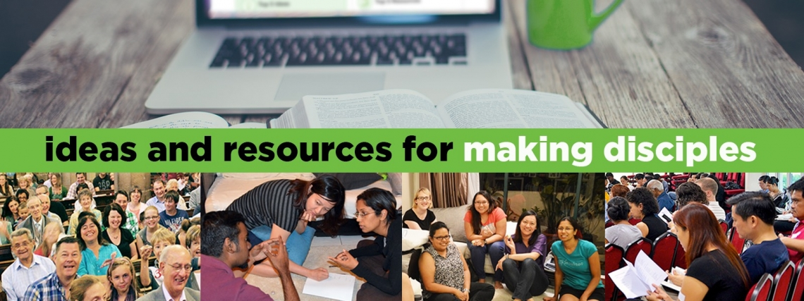 ideas and resources for growing disciples